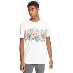 Quiksilver Paradise Express Maglietta a Maniche Corte Uomo, bianco/colorato